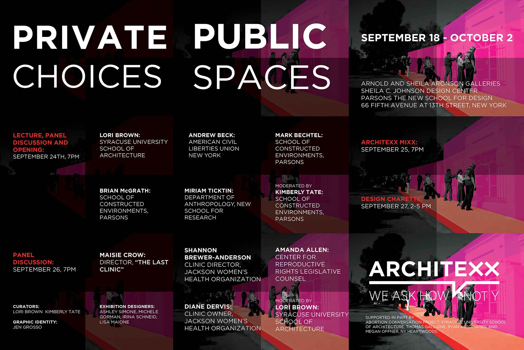 Private Choices, Public Spaces