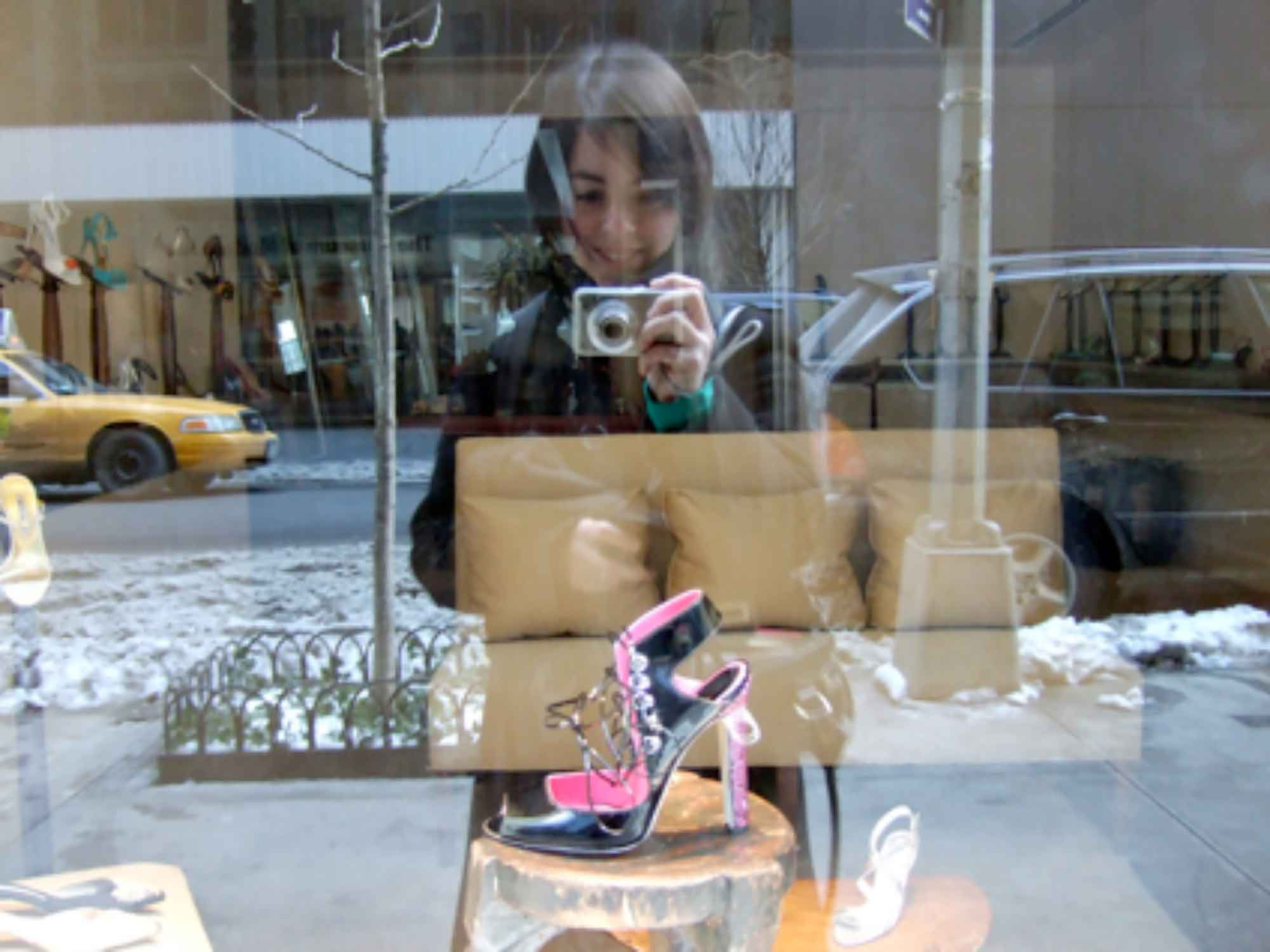 Photograph of the Breda shoe, New York City, 2007.