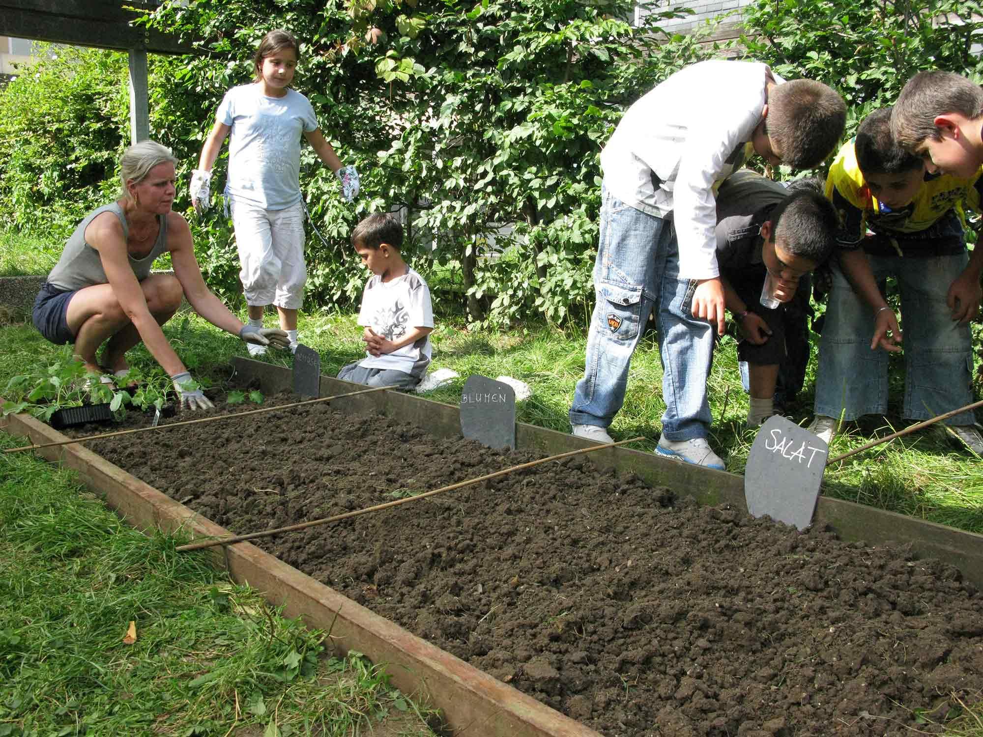 Apolonija Šušteršič, Hustadt Project, Gardening with Susanne Breindenbach.