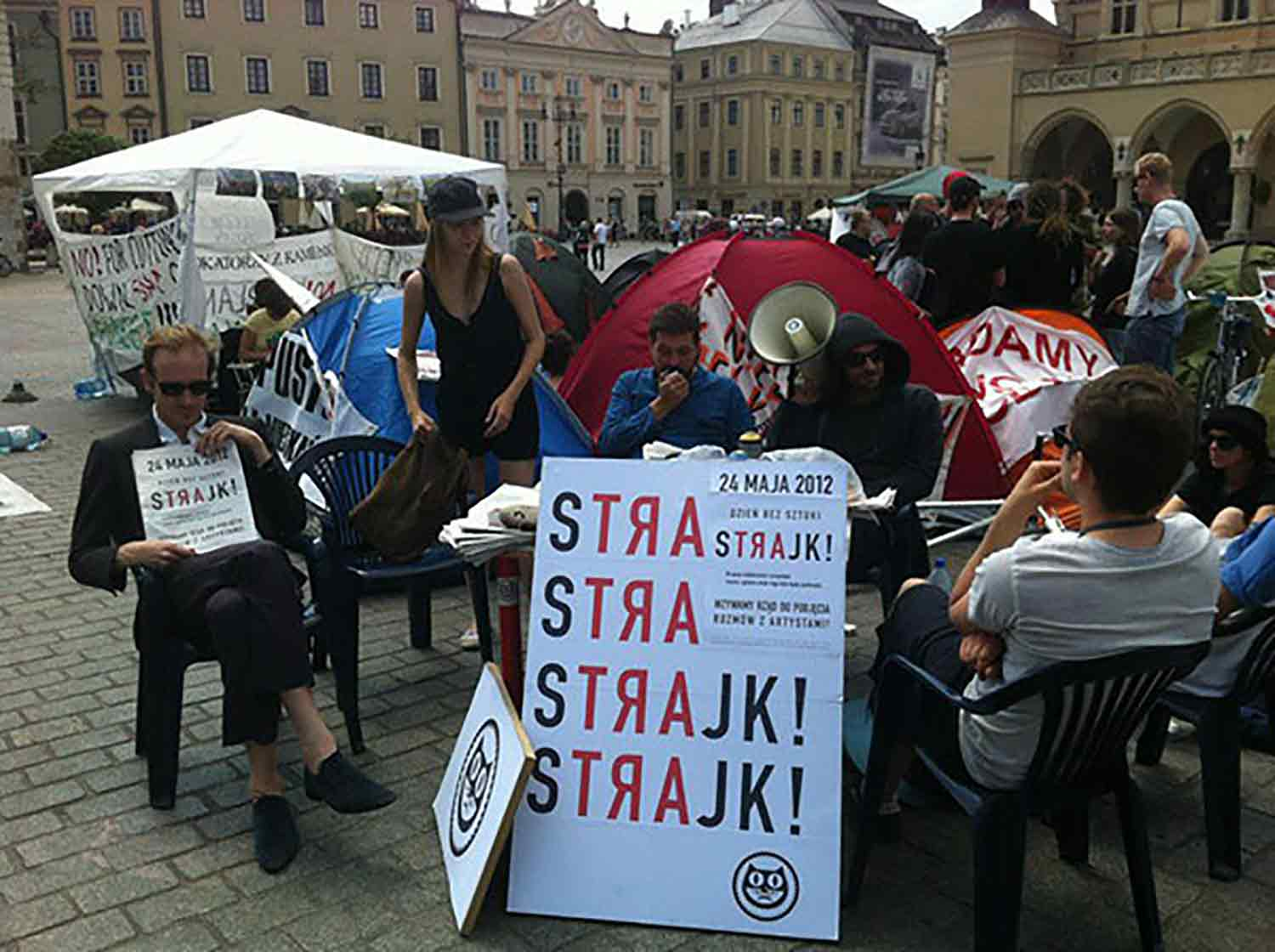 The Polish Day Without Art (2012), an art strike.